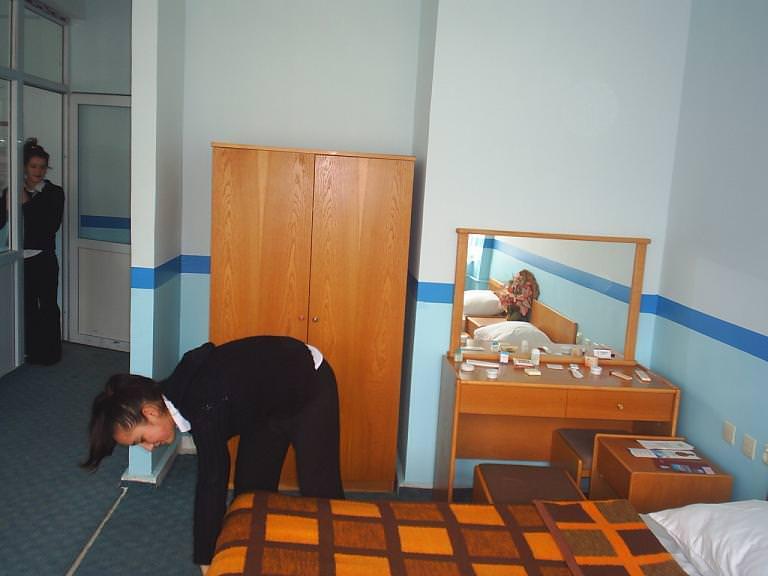 oda temizleme housekeeper