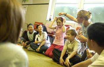 yaz okulunda dersler
