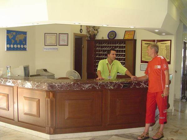 wat receptionist