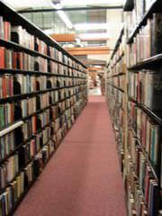 üniversite kütüphanesi